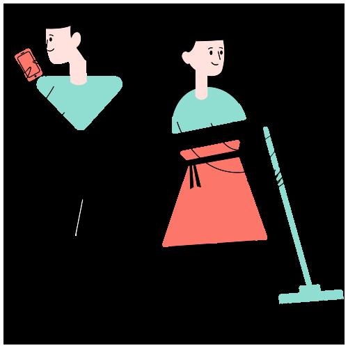 trabajadores de aseo y mantenimiento annaworkers