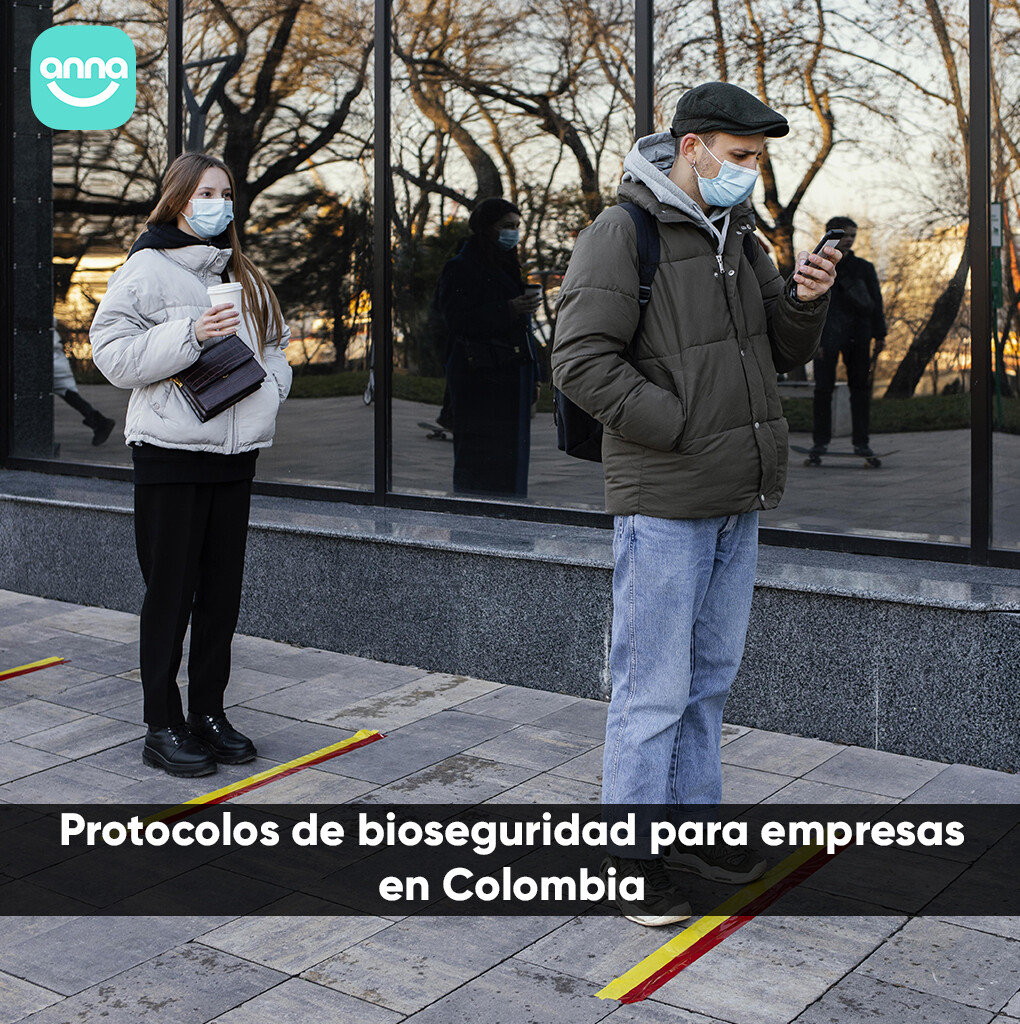 Protocolos de bioseguridad para empresas en Colombia